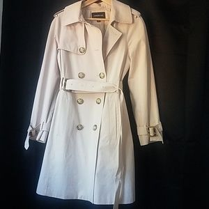 London fog blush pink/beige M classic trench coat